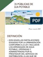 Clase 11 Redes Publicas de Agua Potable