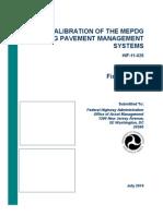 CALIBRACION MEPDG