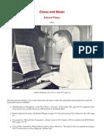 Edward Winter - Chess and Music