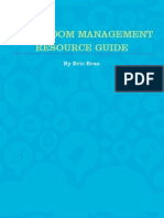 Classroom Management Resource Guide
