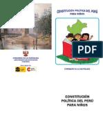 Constitución Política del Perú para Niños