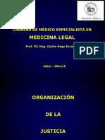 5. ORGANIZACIÓN DE LA JUSTICIA
