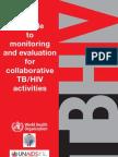 Hiv Tb Monitoring Guide