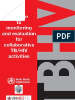 Hiv Tb Monitoring Guide