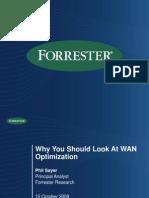 024 Forrester Oct 2009 WAN Optimization Drivers