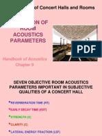 5 Prediction of Room Acoustics Parameters