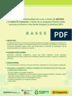 Bases Premio Lima Verde
