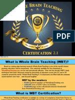 Whole Brain Teaching Certification 2.0