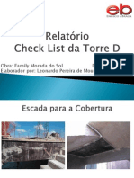 Relatório Check List da Torre D