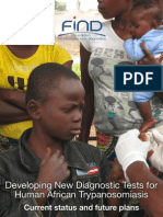 Developing New Diagnostic Tests for Sleeping Sickness MAY2013