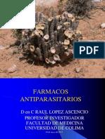 Farmacos antiparasitarios 2013.ppt