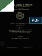 Inspeccion Radiografica de Soldaduras
