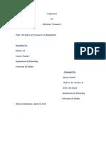 futureofelectroniccommerceinbangladesh-110926133853-phpapp01