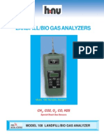 Model 108 Landfill Gas Analyzer Brochure