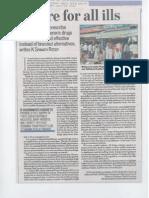 Dr K Srinath Reddy Article