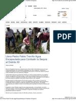 08-06-13 Lleva PPT agua encapsulada para combatir la sequía al distrito Xll