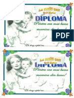 Diploma Pentru Mama