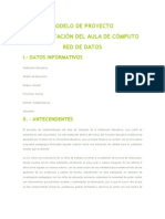 Implementacion Del Aula de Computo_red de Datos