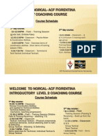 Acf Fiorentina Coaching Course