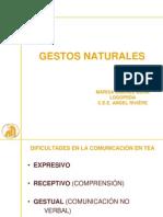 GESTOS NATURALES