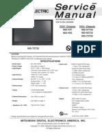 Mitsubishi WD-57732 V33Y-V33+_ Service_Manual