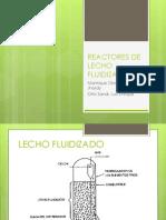 Reactores de Lecho Fluidizado1