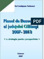 Plan Dezvoltare Judet Calarasi 2007 2013