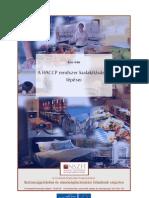 HACCP rendszer kialakításának lépései