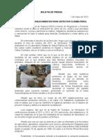 01/05/12 Germán Tenorio Vasconcelos verifica Sso Establecimientos Para Detectar Clembuterol