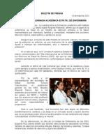 14/05/12 Germán Tenorio Vasconcelos REALIZA SSO IX JORNADA ESTATAL DE ENFERMERÍA