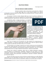 15/05/12 Germán Tenorio Vasconcelos advierte Sso Riesgos Sobre Anorexia