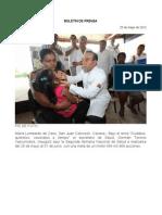 25/05/12 Germán Tenorio Vasconcelos PIE DE FOTO, INAUGURACIÓN 2a SNS