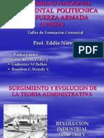 Evolucion de La Teoria Administrativa No 3