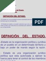 Diapositivas Semana 1 - Clase 1 - El Estado, Estructura y Entidades.