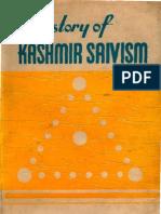 History of Kashmir Shivaism