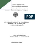 Actividad financiera de las grandes empresas de distribución comercial en España_tesis doctoral