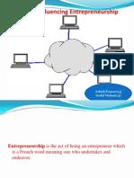 Factors Influencing Entrepreneurship (BBA)