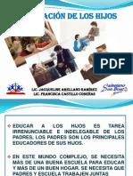 EDUCACIÓN DE HIJOS ADOLESCENTES