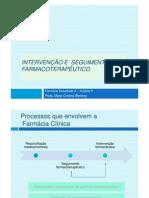 Intervenc Es e Seguimento Farmacoterapeutico Modo de Compatibilidade