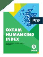 Oxfam Humankind Index