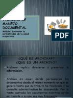 TÉCNICAS DE MANEJO DOCUMENTAL