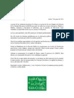 Carta Centros