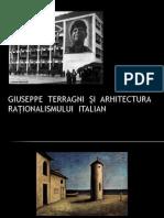 GiuSEPPE  TERRAGNI  ȘI  ARHITECTURA RAȚIONALISMULUI  ITALIAN