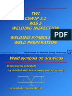 Welding Symbols Weld Preparations