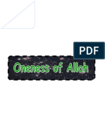 Monotheism Part 4-1- Oneness of Allah