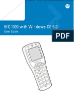 MC1000 With Windows CE 5.0 User Guide