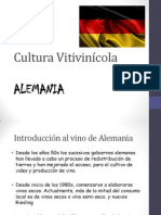 Cultura Vitivinícola Alemania