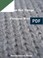 Chris Murray , a Smithereens Press Chapbook