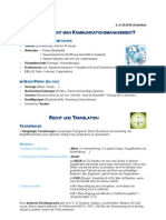 Mitschrift Kommunikationsmanagement ITAT Schleifer