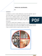 INFORME muros de albañileria